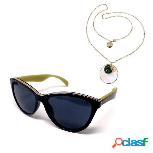 Juego pertegaz gafas sol pz20026 512 colgante malaquita
