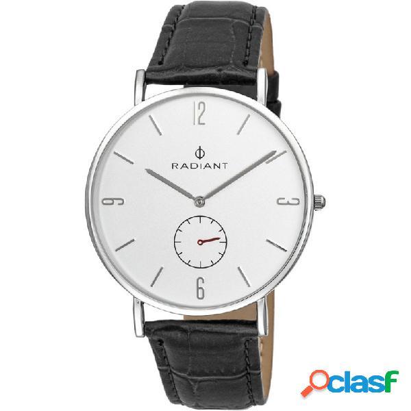 Reloj radiant hombre diary silver black croco ra377628