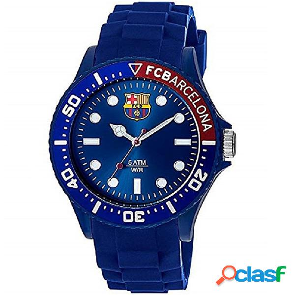 Reloj f.c. barcelona radiant hombre azul ba05602