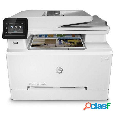 Multifuncion hp con fax laserjet pro color m283fdn - 21/21ppm - duplex