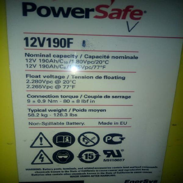 Bateria agm 12v- 190a