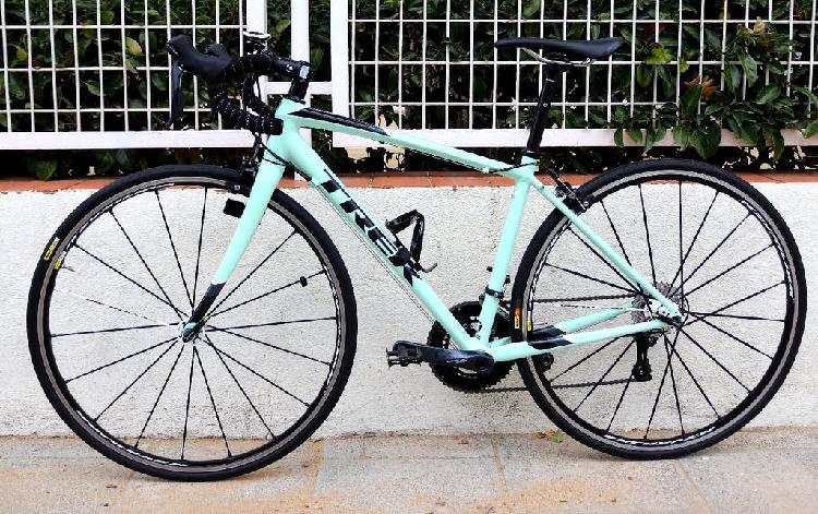 Bicicleta carretera geometría mujer