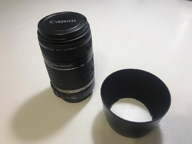 Canon teleobjetivo