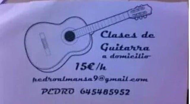 Clases guitarra por skype