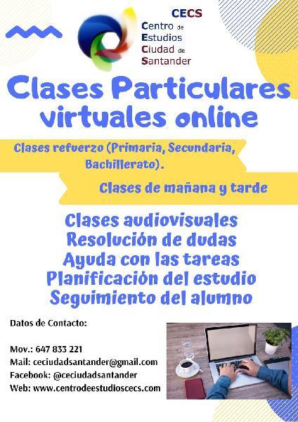 Clases online (ayuda al alumno)