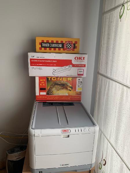 Impresora oki c3300