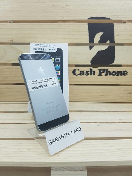 Iphone 5s 16gb gris espacial ocasión