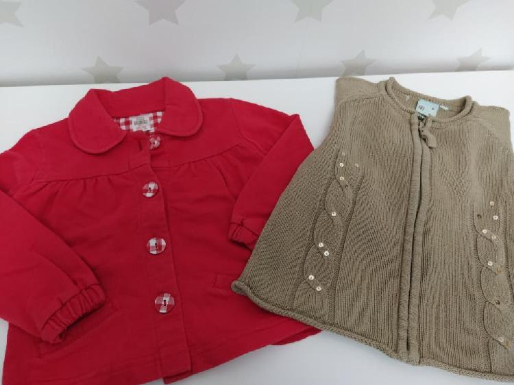 Lote chaquetas niña 18-24 meses