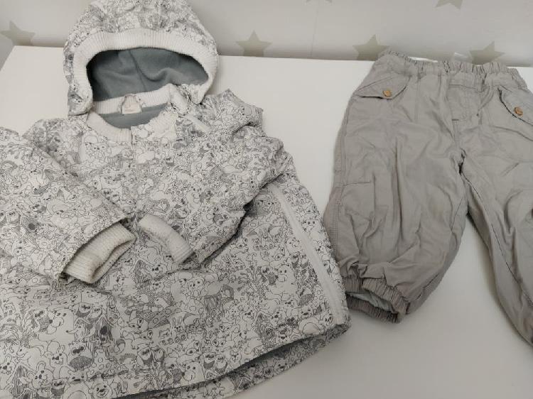 Lote ropa invierno niño 12-18 meses