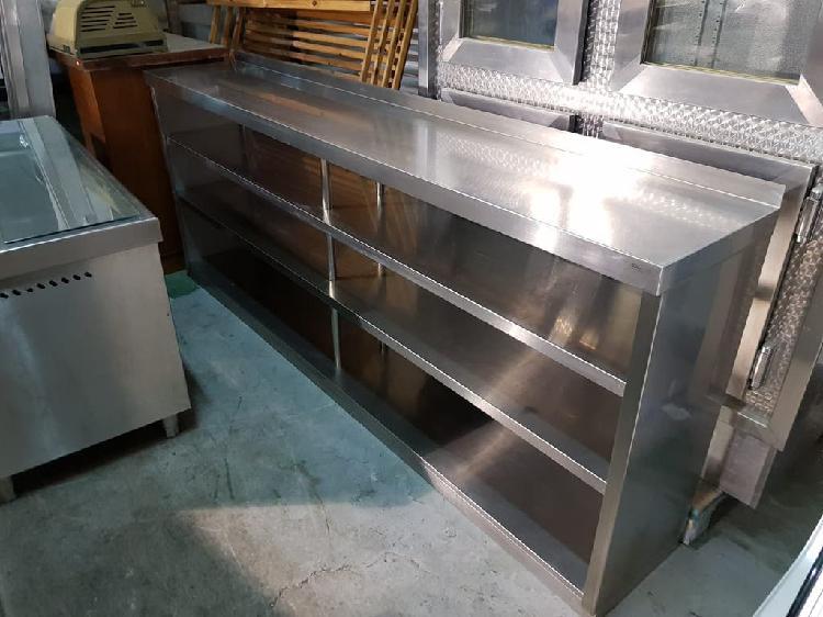 Mueble lejero de acero inoxidable