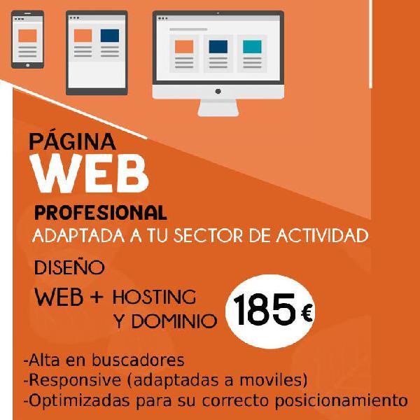 Página web - promoción especial