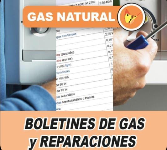 Reparacion pérdidas de gas