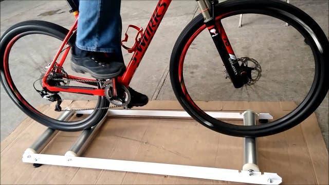 Rodillo rulos bici