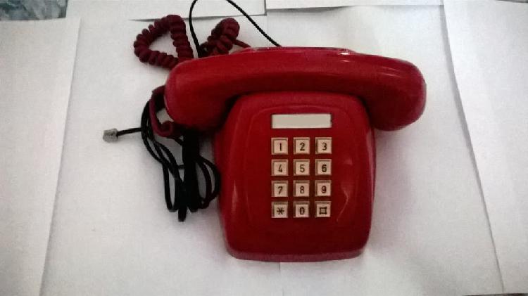 Teléfono citesa heraldo rojo multifrecuencia