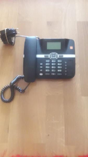 Teléfono fijo/móvil smartsim batería