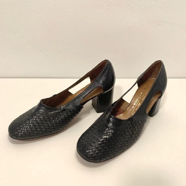 Zapato vintage marino