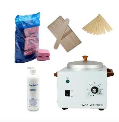 Kit fundidor calentador cera caliente depilar