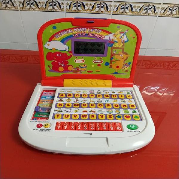 Laptop infantil bilingüe