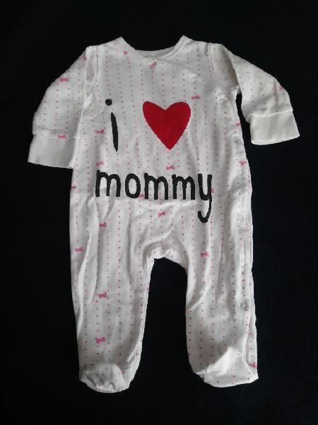 Pelele i love mommy 6 meses
