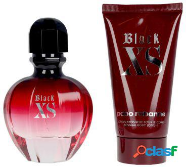 Paco rabanne black xs for her lote 2 piezas