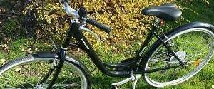 Bici paseo impecable decathlon