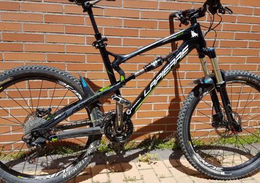 Bicicleta lapierre zesty 514 carbono
