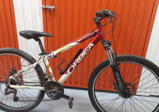 Bicicleta mountain bike orbea aluminio