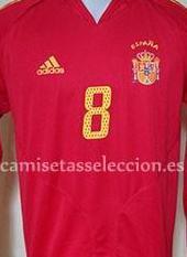 Camiseta seleccion española 2004-05