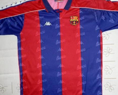 Camiseta azulgrana fc barcelona dream team