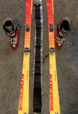 Equipo completo de esquí de travesía
