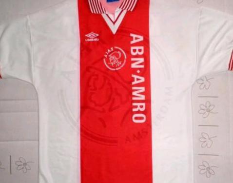 Kluivert camiseta Ajax Amsterdam