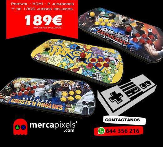 Mandos arcade hdmi portatiles nuevos