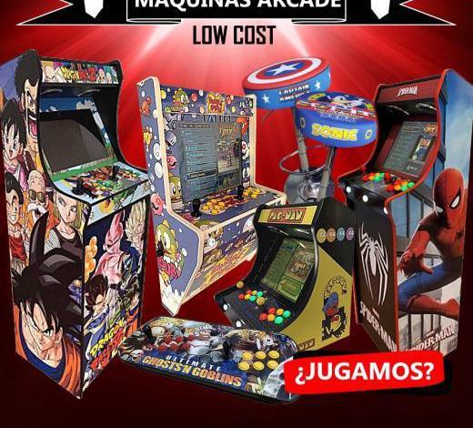 Máquinas recreativas arcade baratas de gran calidad