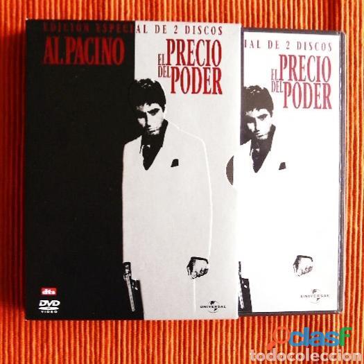 Al pacino el precio del poder. edición especial 2 dvd's.