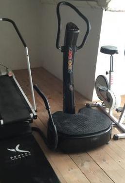Lote máquinas para hacer ejercicio