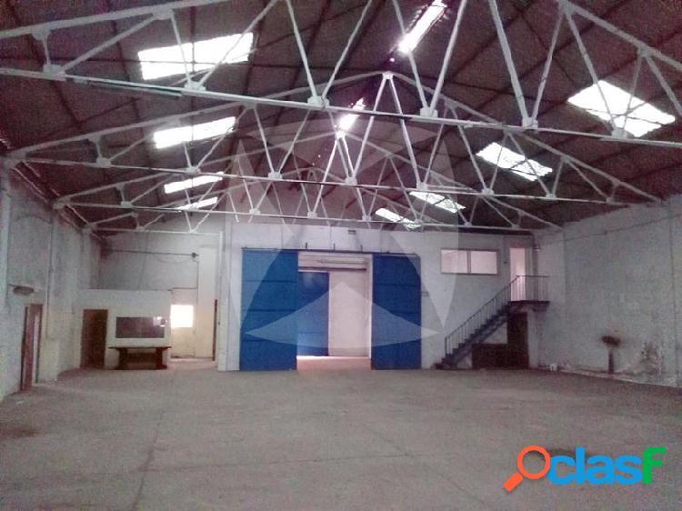 Nave industrial de 1015 m2 en venta en el poligono el nevero