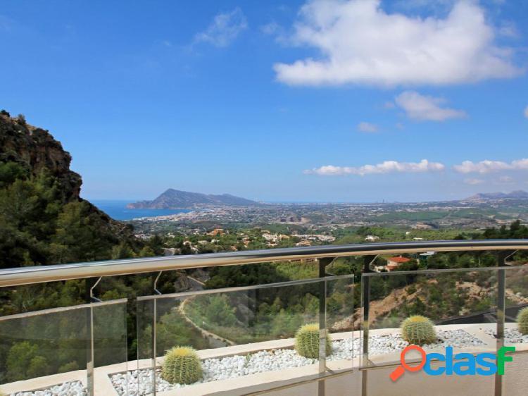 Casas de lujo en altea con impresionantes vistas sobre el mar mediterranean