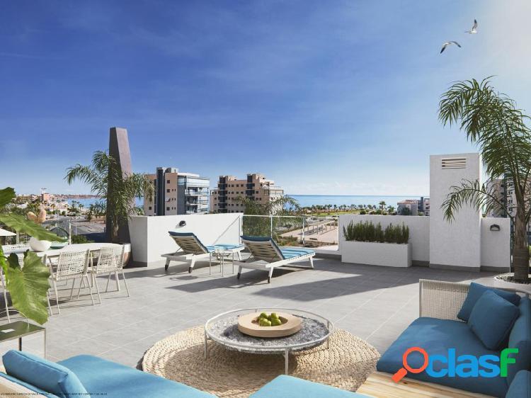 Fantásticos apartamentos y bungalows con vista al mar - a solo 100 metros de la playa en mil palmeras