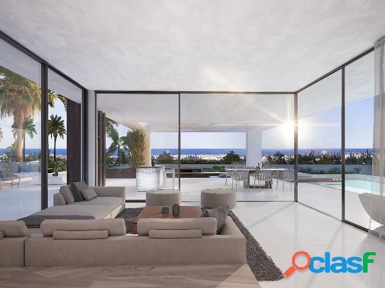 Villas de obra nueva en venta the new golden mile, estepona, malaga