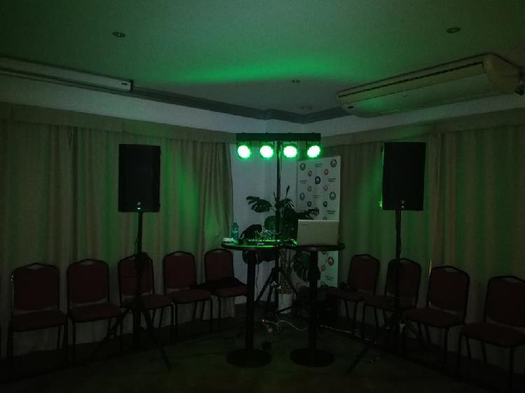 Alquiler de sonido para fiestas