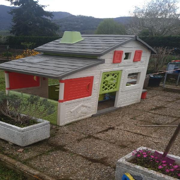 Caseta jardin para niños ,smoby