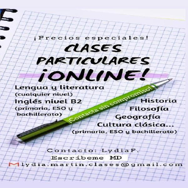 Clases particulares online