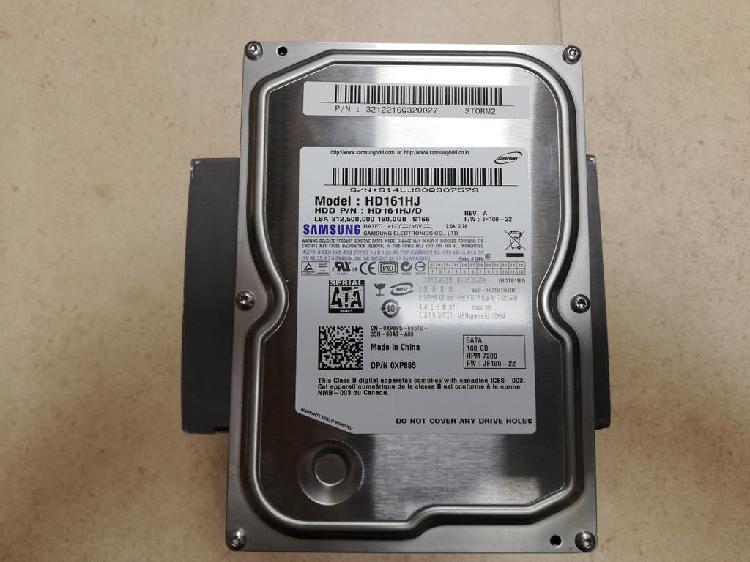 "Disco duro 3'5"" samsung storm 2 160 gb. sata"