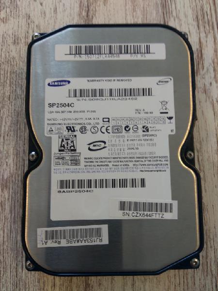 Disco duro samsung 250gb