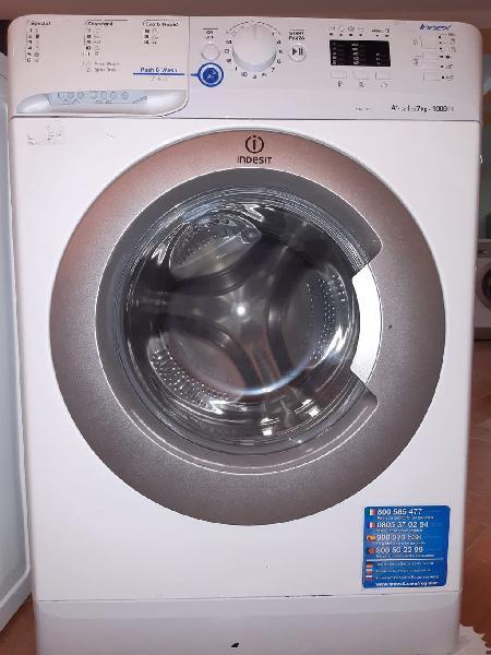 Envio 01-09 abril. lavadora indesit 7kg 1000rpm a+