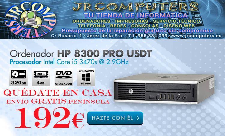 Hp 8300pro usdt/i5/320gb hdd/4gb