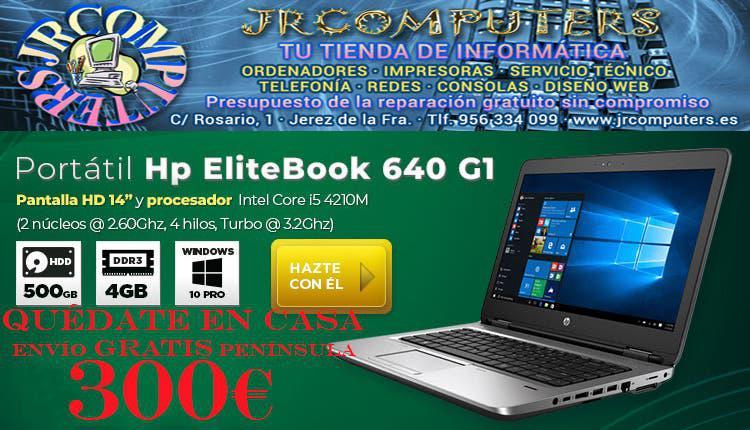 """Hp elitebook 640g1/14""""hd/i5/500gb hdd/4gb"""
