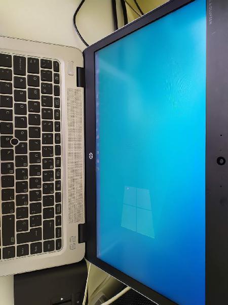 Portátil hp elitebook + monitor+ dock