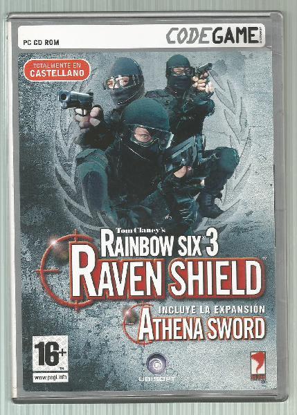Rainbow six 3: raven shield + athena sword de pc