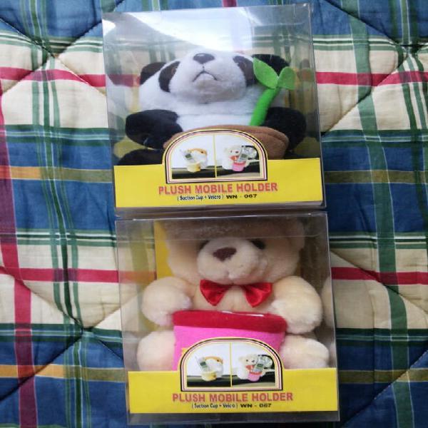 Soporte de mesa para teléfonos móviles - panda oso